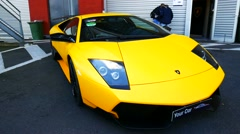 Lamborghini Murcielago LP670-4 SV Stock Footage
