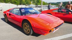 Ferrari 308 GTS Stock Footage