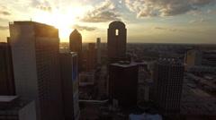 Aerial Texas Dallas Stock Footage