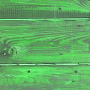 The old green wood texture with natural patterns - stock photo