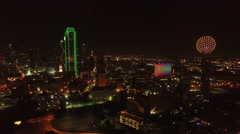 Aerial Texas Dallas Arkistovideo