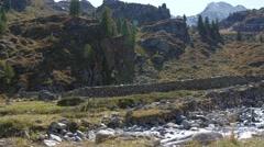 Mountain Landscape in austria - stock footage
