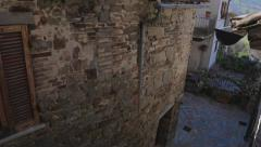Narrow streets of Europe Stock Footage