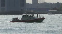 Coast Guard cutter Stock Footage