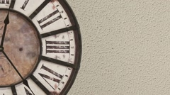 Old fashioned clock, timelapse  Stock Footage