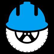 Wheel Development Icon Stock Illustration