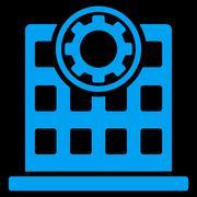 Corporation Icon Stock Illustration