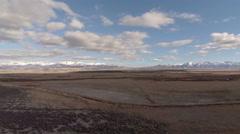 Aerial Utah Countryside Stock Footage
