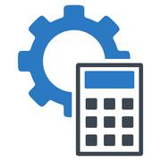 Stock Illustration of Engineering Calculations Icon