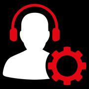 Operator Configuration Icon - stock illustration
