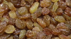Raisins background. Dolly shot. Stock Footage