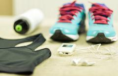 Stock Photo of Beautiful sport set for running.