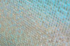 Seamless blue glass tiles texture background,window, kitchen or bathroom conc - stock photo