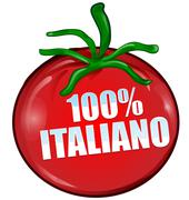 Stock Illustration of italian tomato