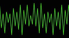 Pulses in seamless loop full HD - 11-pa Stock Footage