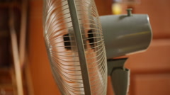 An electric fan is turning around Stock Footage