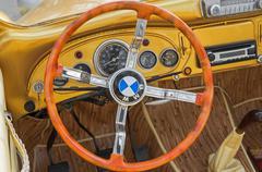 Vehicle interior luxury Stock Photos