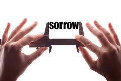 Less sorrow - stock photo