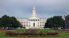 Denver City And County Building In Denver, Colorado Stock Footage