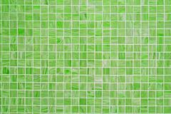 Green square tiled background - stock photo