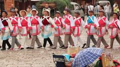 Naxi Dongba Stock Footage