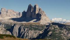 Three peaks dolomites time lapse 4k 11702 Stock Footage