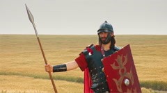 Legionary - two clips Stock Footage
