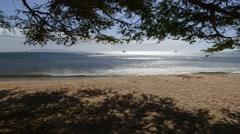 Sugar Beach, Kihei, Maui, Hawaii Stock Footage