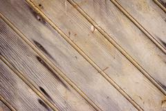 The old wood texture with natural patterns - stock photo