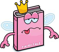 Sick Cartoon Fairy Tale - stock illustration
