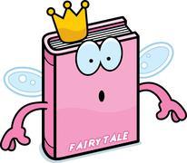 Surprised Cartoon Fairy Tale - stock illustration