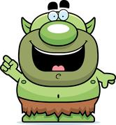 Cartoon Goblin Idea Stock Illustration