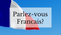 Parlez-vous Francais Stock Footage