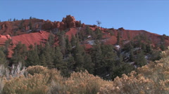 Red Cliffs in southern Utah - stock footage