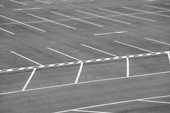 Carpark - stock photo