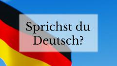Sprichst du Deutsch Stock Footage