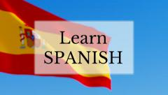Learn Spanish Stock Footage