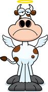 Stock Illustration of Sad Cartoon Holy Cow