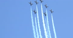MCAS Miramar Breitling Team Formation Stock Footage