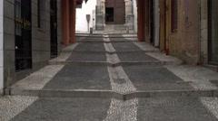 """Medina"" market street of Granada, Spain, in early morning. Stock Footage"