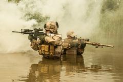 Navy SEALs Stock Photos