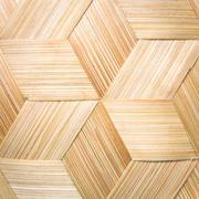 Stock Photo of Stripes made of bamboo weaving.