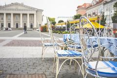 Vilnius oldtown street ,Lithuania Stock Photos