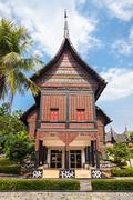Taman Mini Indonesia - stock photo