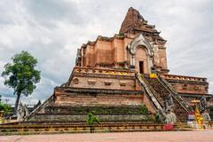 Wat Chedi Luang, Chiang Mai Stock Photos