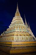 Wat Pho Temple Stock Photos