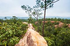 Canyon in Pai - stock photo