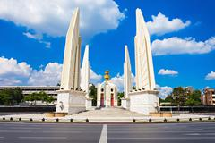 The Democracy Monument - stock photo