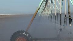 Irrigation, Water, Farming Stock Footage
