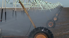 Irrigation, Water, Farming Stock Footage